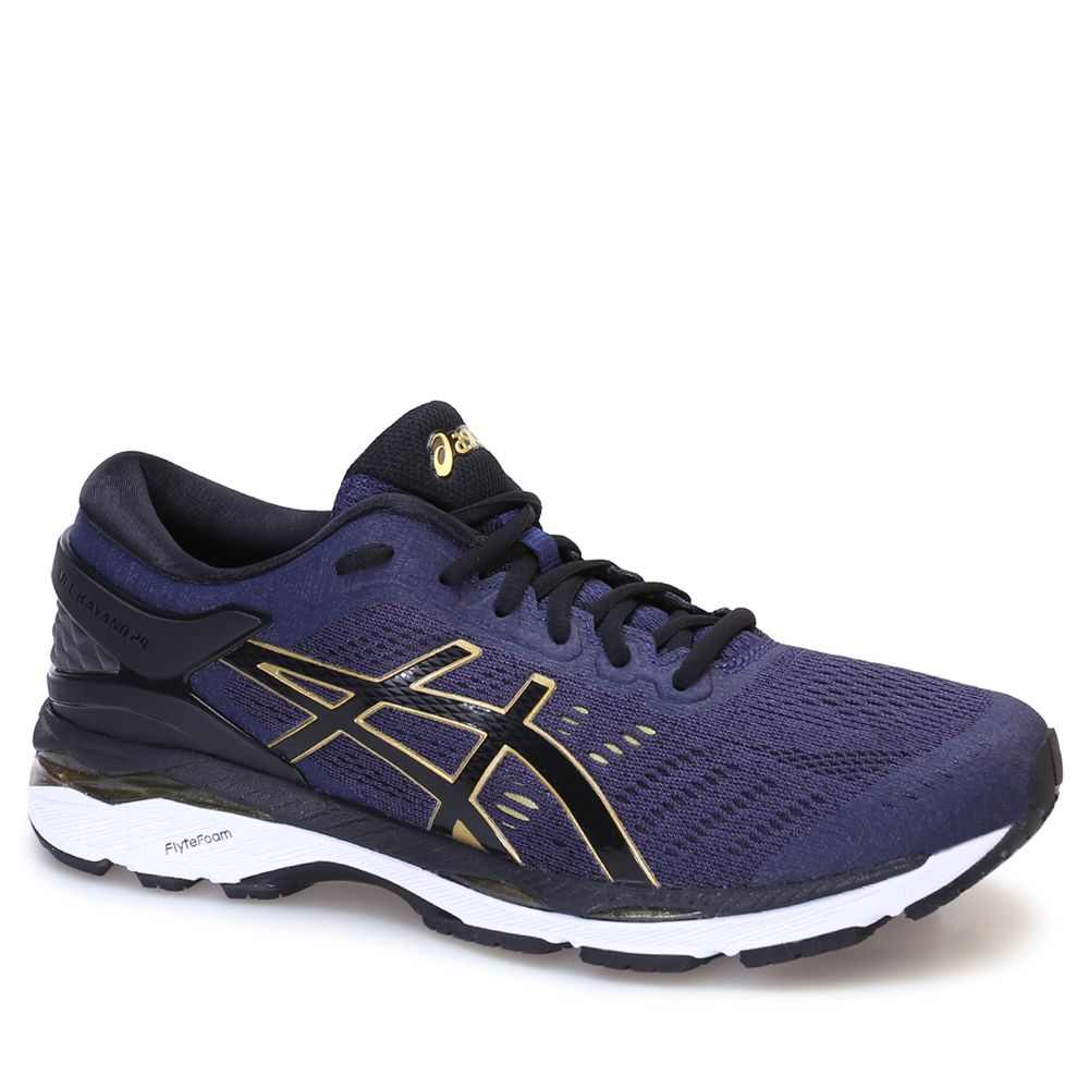 01e48f83d1 Tênis Asics Gel Kayano 24 Peacoat Black Rich Gold - rensz