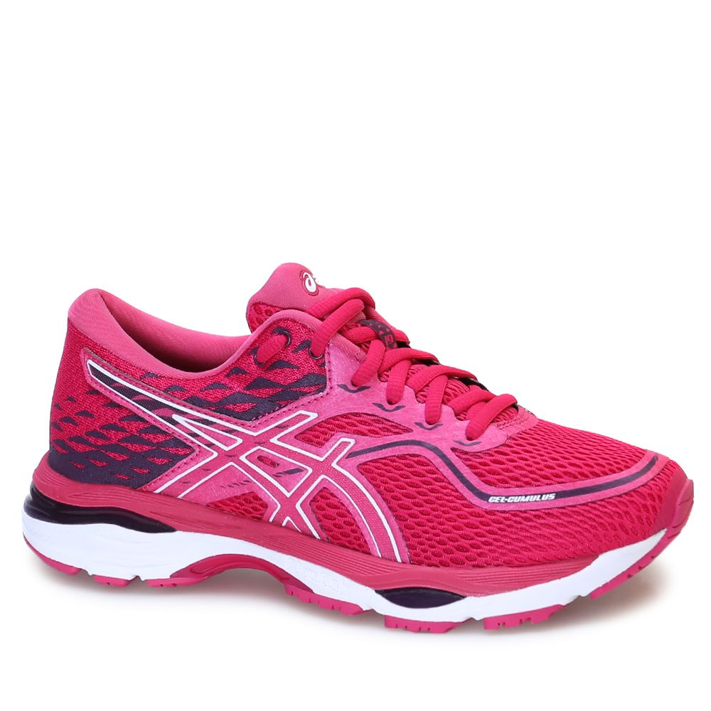 676135a66a Tênis Asics Gel Cumulus 19 Cosmo Pink White Winter Bloom - rensz
